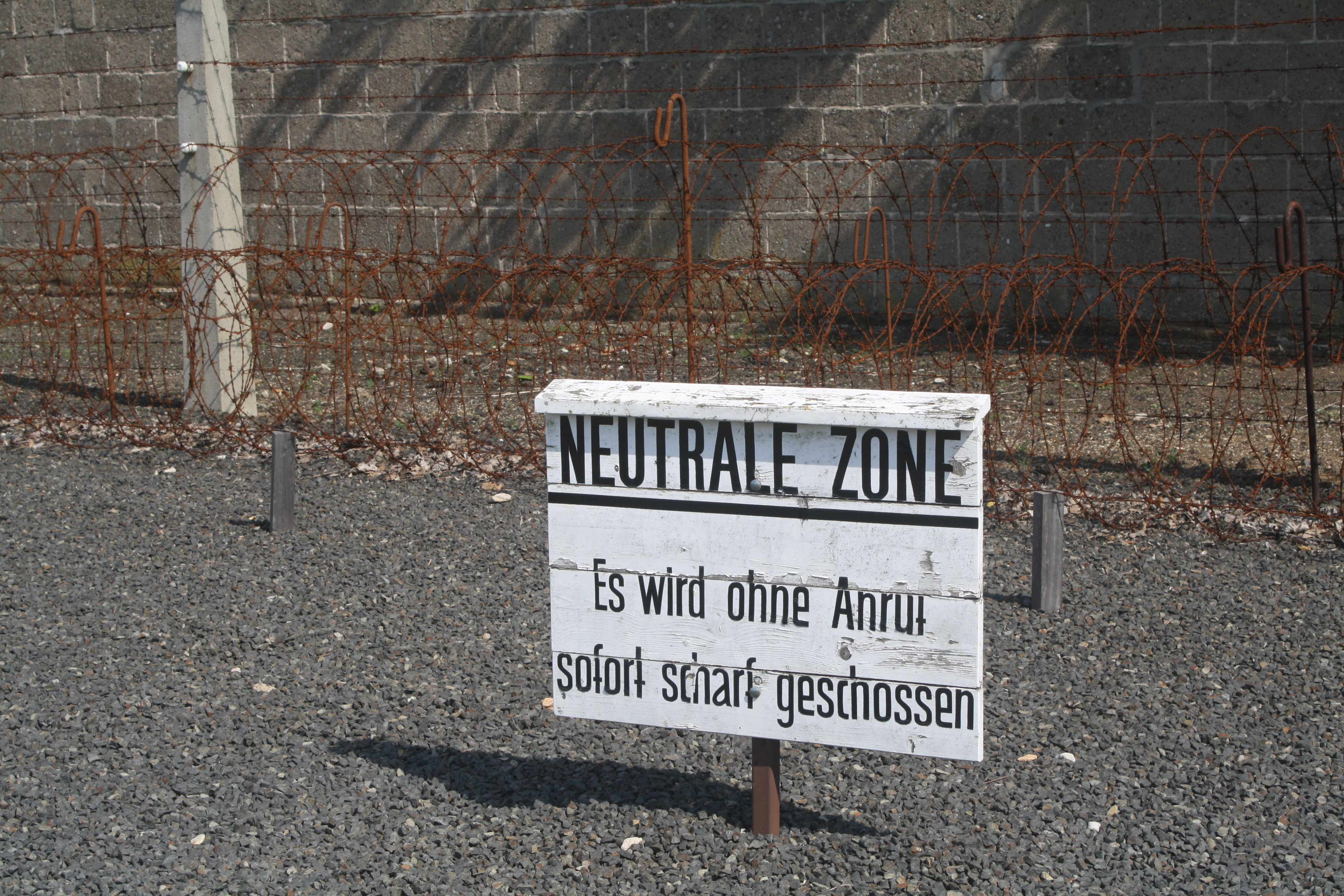 sachsenhausen concentration camp neutrale zone